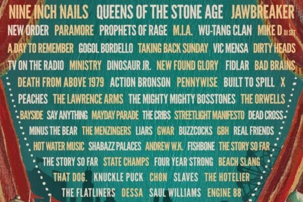 Riot Fest 2017 First Round Lineup! Dinosaur Jr., Built to Spill, Fishbone to Play Full Albums