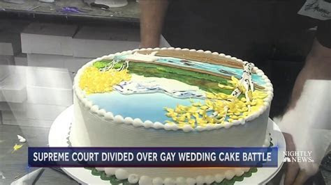 Supreme Court hears why baker refused to make a wedding