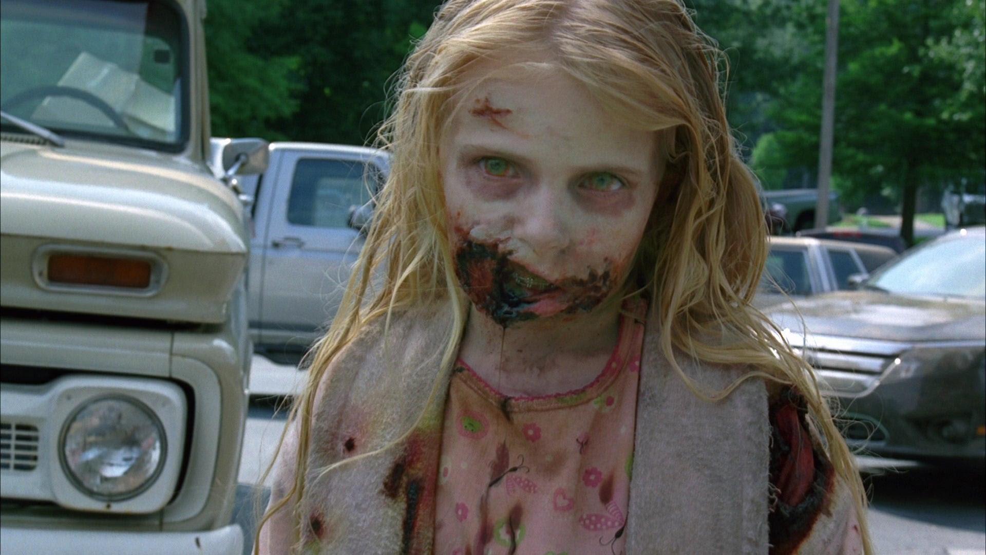 niña zombie