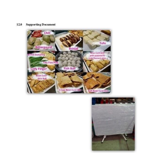 Contoh Proposal Business Plan Makanan Ringan - Laporan 7