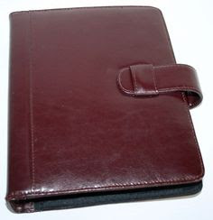 CLASSIC BLACK Simulated Leather Day Planner 7 ring binder by DAY ...