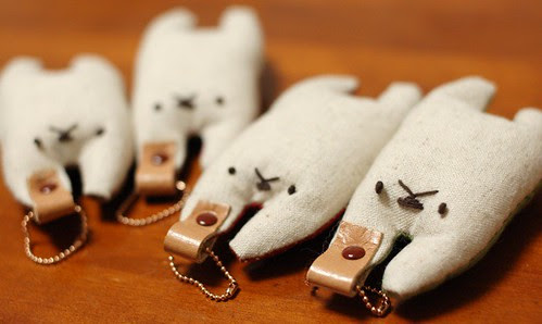 Rabbit key holder