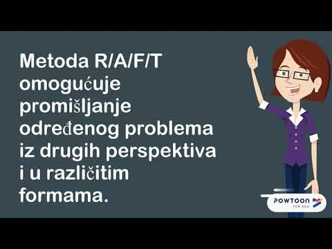 R/A/F/T -nastavne metode