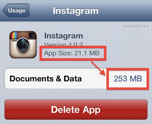 Delete and reinstall bloated apps with large local data