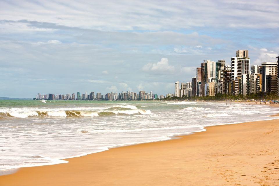 Praia De Boa Viagem Beach au Brésil