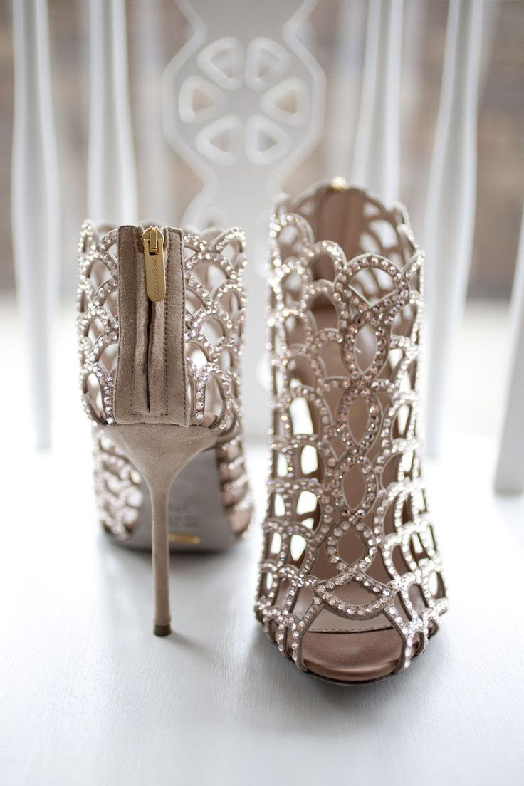 These #SergioRossi shoes? Next level   Vintage Chic Sydney Wedding from Lovers Lane Photography  Read more - http://www.stylemepretty.com/australia-weddings/2013/08/14/vintage-chic-sydney-wedding-from-lovers-lane-photography/