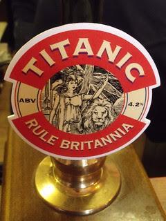 Titanic, Rule Britannia, England