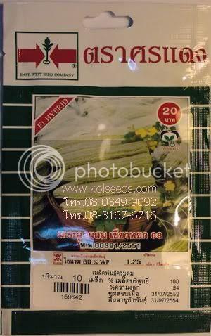 เมล็ดพันธุ์มะระจีนเขียวหยก 68 ตราศรแดง