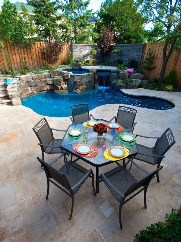 Swimming Pool Ideas for Small Backyards