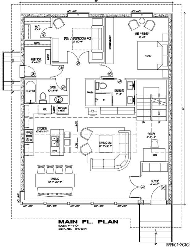 Casas de madera prefabricadas planos de mini casa for Casa moderna minimalista interior 6m x 12 50m