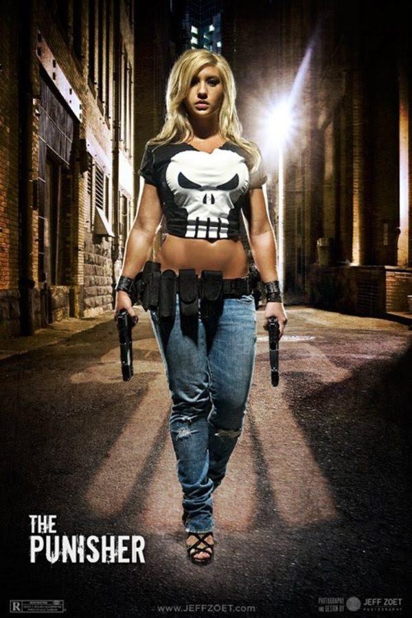 Disfraz Cosplay Punisher