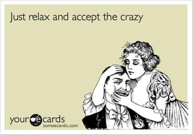 Just Relax Funny Quotes Dump A Day
