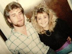 Stewart & Shelly, circa 1990