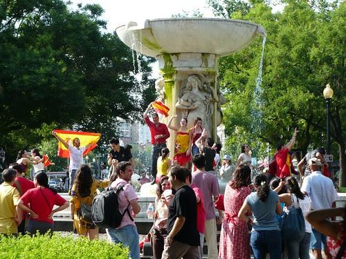Dupont Celebration Spain Wins!