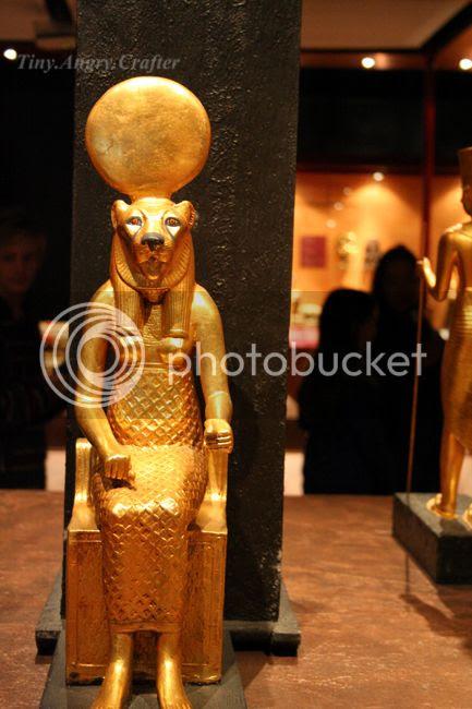 TinyAngryCrafter- King Tut Exhibit outing