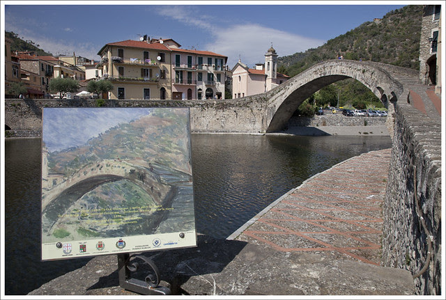Bridge At Dolceaqua