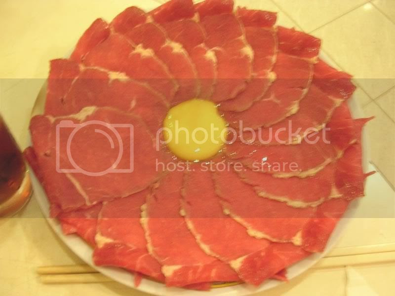 Jian Ji steamboat - Beef slices
