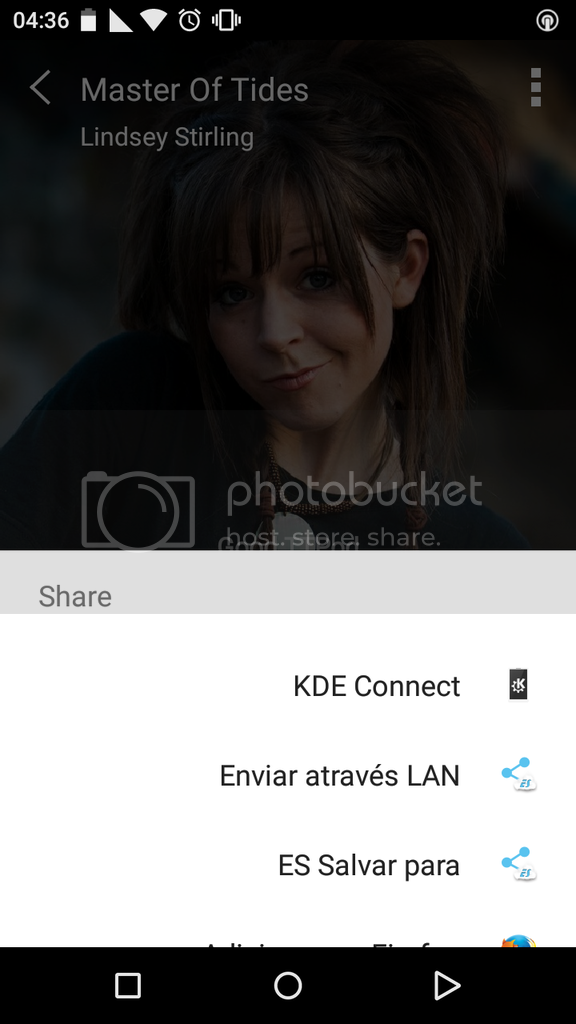 Android - Menu de Compartilhamento