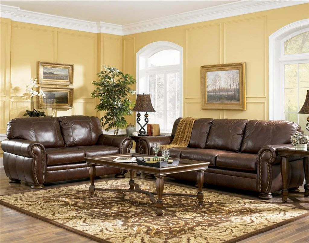 Living Room Colors with Brown Furniture - Decor IdeasDecor ...