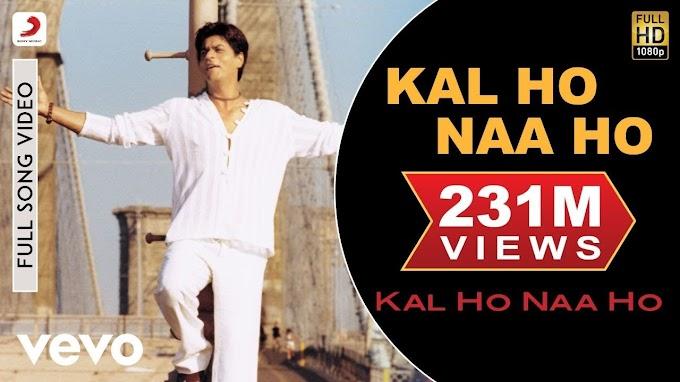 Kal Ho Na Ho Lyrics - Sonu Nigam