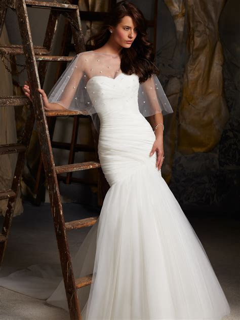 Sweetheart Fit And Flare Mori Lee Blu Bridal Gown 5108