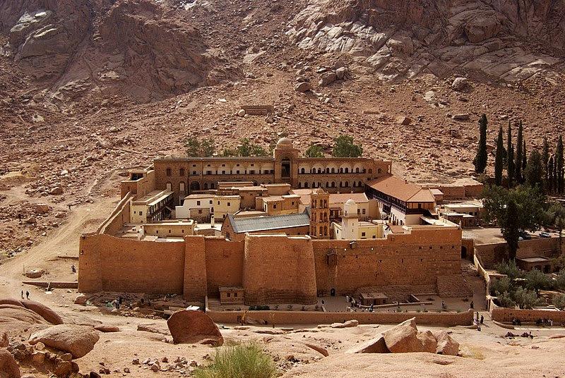 Fail:Katharinenkloster Sinai BW 2.jpg