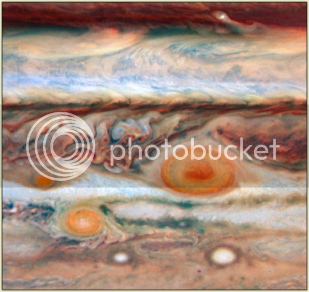 Jupiter's Red Spots