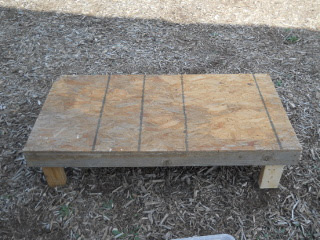 Goat Milking Stand Top Side of Base