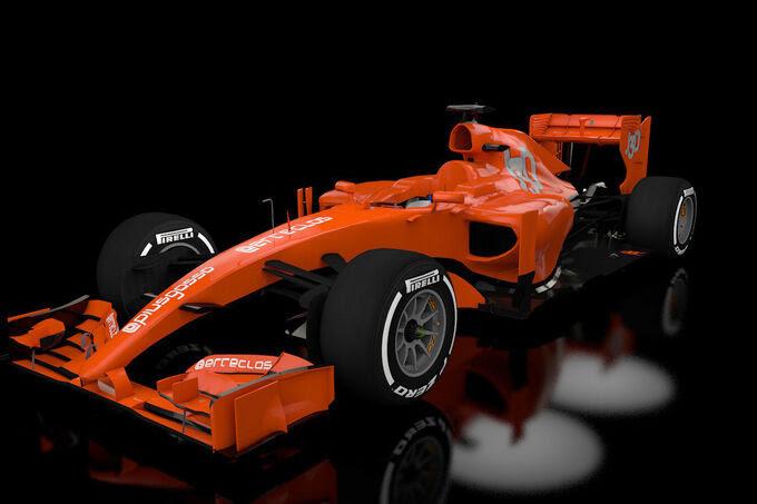 Formula 1 - narizes estudar 2014