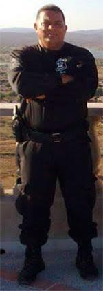 Agente penitenciário Maxuel André Marcelino morreu ao ser atingido pelos disparos (Foto: Marcelo Pep)