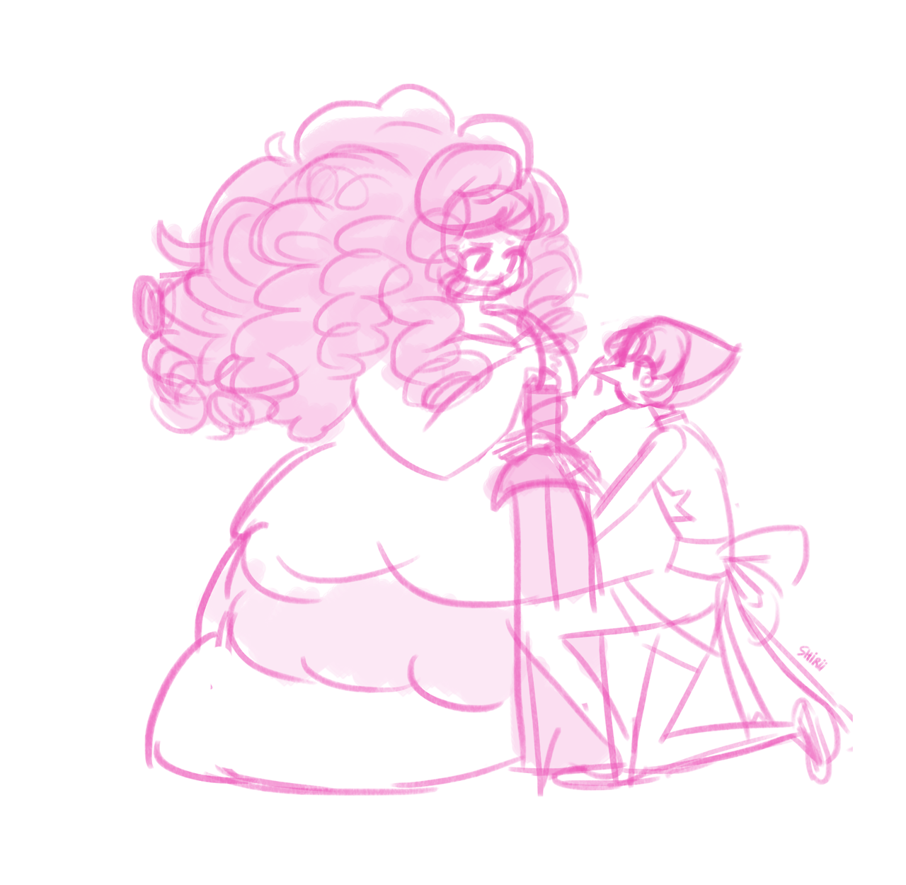 y'all ever wonder what pearl would do in rose's room and then make yourself cry bc same