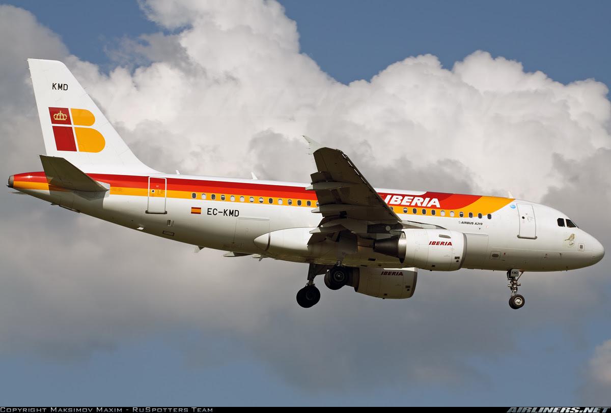 Iberia A319 Nigeria