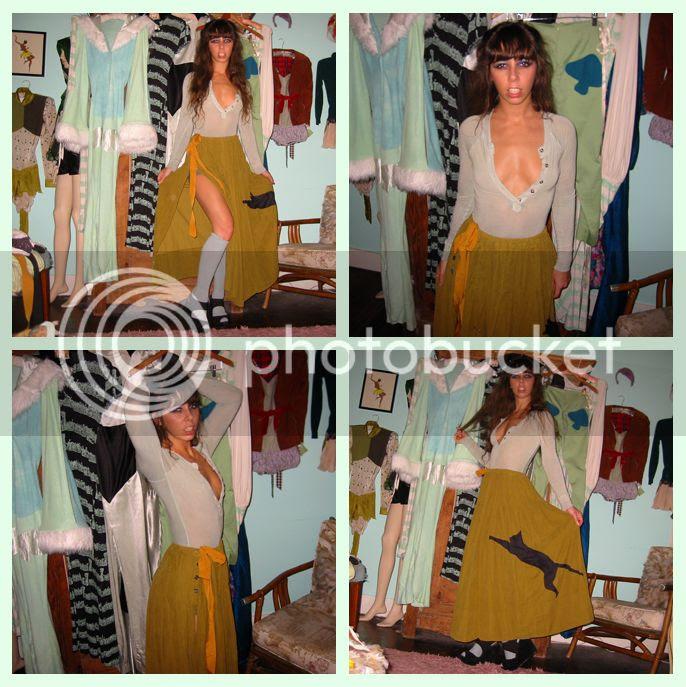 Mandate of Heaven Kitty Cape Skirt