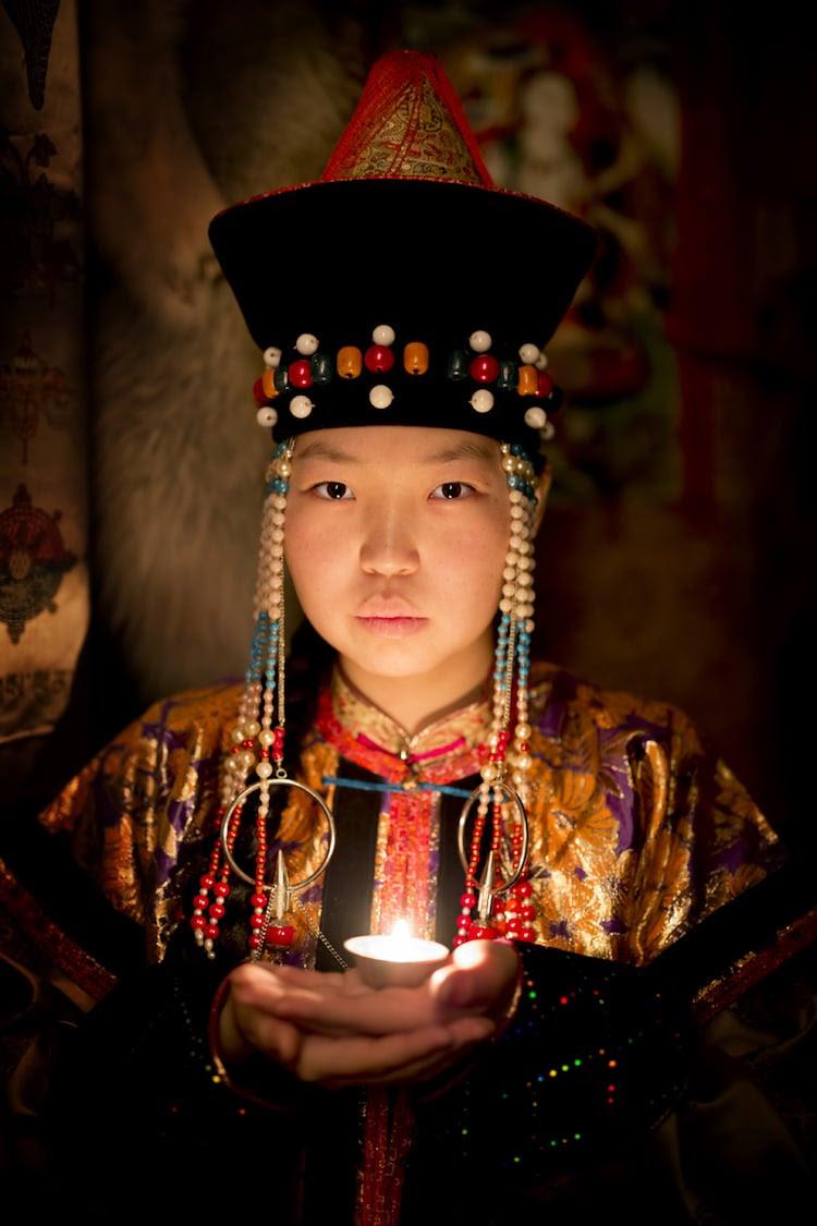 Vêtements traditionnels de buryat