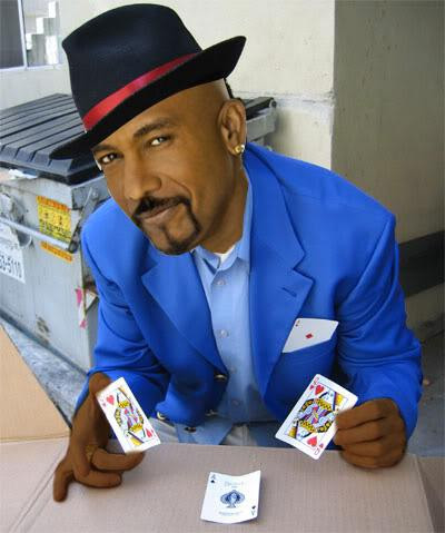 Montel Williams playing three card monte | Tacky Harper's Crytpic Clues