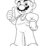 Dibujos De Mario Bros Para Colorear A Lapiz A Color