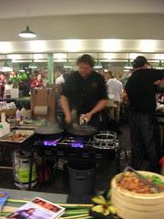 Tom Douglas cooking