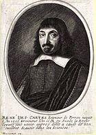 Engraving of Descartes by Balthasar Moncornot