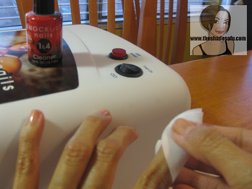 Knockout Nails Uv Nail Hardening System Review The Shades Of U