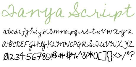 click to download Tanya Script