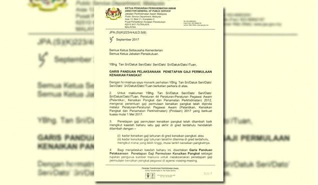 Kenaikan Gaji Penjawat Awam Naik Gred Pangkat Kini Ditambah Baik Infomalay12 Blogspot Com Info Malay