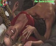 Ellen Rocche sensual na novela Outro Lado do paraiso