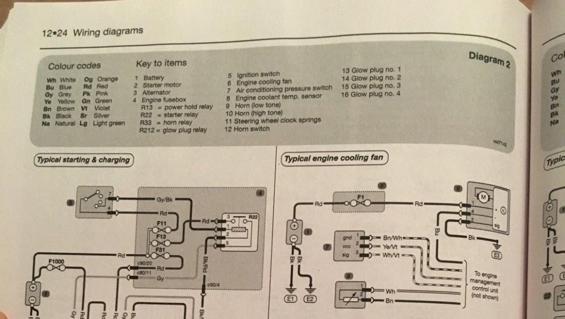 2003 Toyota Highlander Radio Wiring Diagram