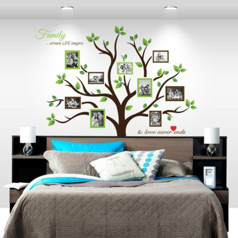 Amazon Large Family Tree Photo Frames Wall Decal 50 Off