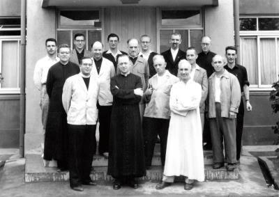 1953年,這群遠自瑞士前來的白冷會神父,無畏重重困難 深入台東偏鄉傳道、救人。(白冷會提供)