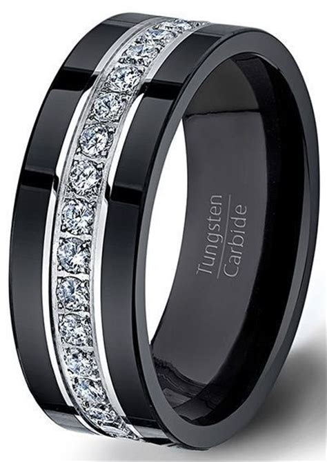 Best 25  Tungsten wedding bands ideas on Pinterest   Mens