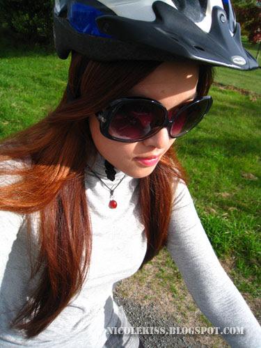 me in my cool helmet