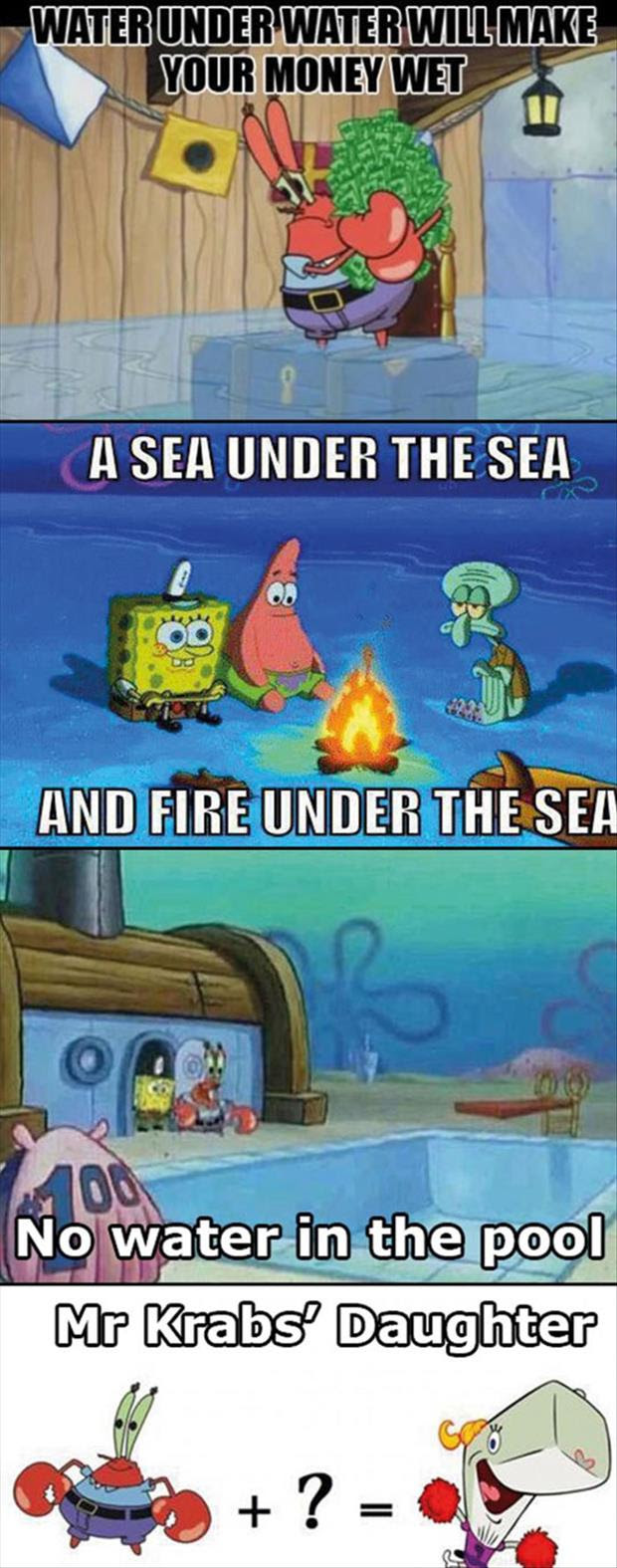 The best of spongebob logic 15 pics