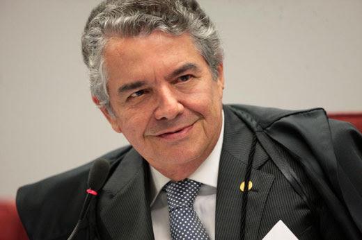 Ministro do STF Marco Aurélio Mello derrubou o afastamento do senador Aécio Neves (PSDB-MG) das funções parlamentares Foto: Carlos Humberto /SCO/STF
