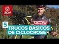 Óscar Pujol nos enseña 5 trucos básicos de ciclocross
